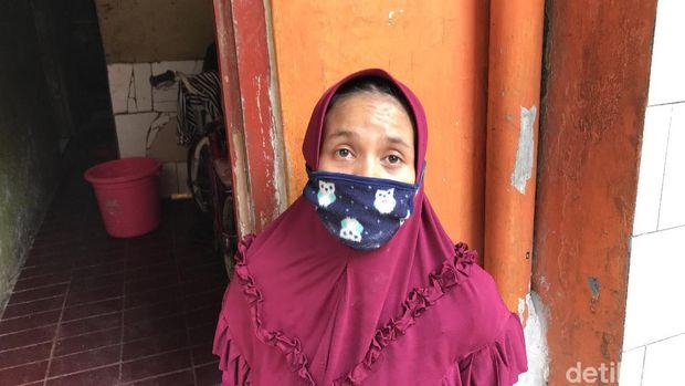 Warga Kampung Pulo, Susi (Nur Aziza/detikcom)