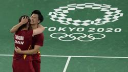 Sejarah! Jepang Raih Medali Bulutangkis Ganda Campuran Olimpiade