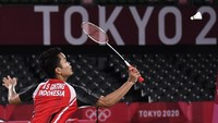 Jadwal Semifinal Tunggal Putra Olimpiade Tokyo 2020: Anthony Ginting Vs Chen Long