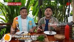 Bikin Laper! Ncess Nabati Puas Makan BBQ Tomahawk yang Porsinya Gokil