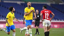 Hasil Sepakbola Olimpiade 2020: Brasil ke Semifinal Usai Kalahkan Mesir 1-0