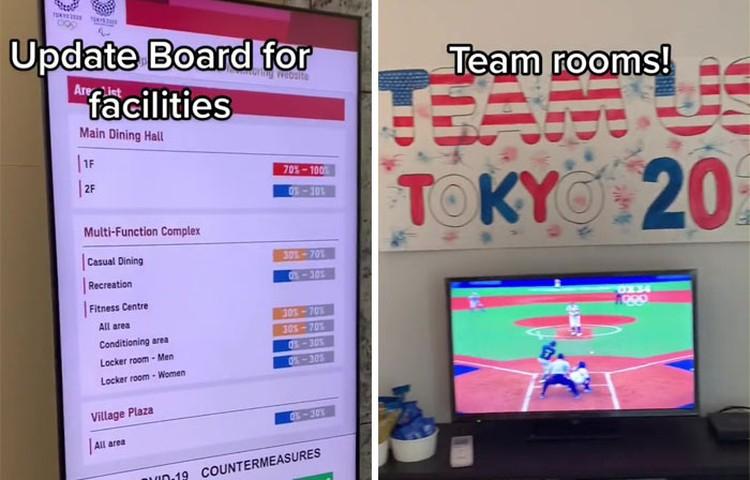 Di balik layar olimpiade