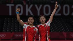 Olimpiade 2020: Apriyani Rahayu, si Pembakar Semangat Greysia Polii