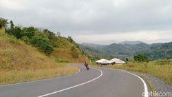 Suasana Sunyi Area Favorit Klub Motor Saat PPKM di Sumedang