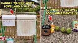 Jemur Handuk Putih, Orang Ini Malah Dapat Makanan Gratis dari Tetangga!