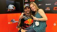 Mengintip Kemesraan Miguel Oliverira dengan Istri yang Juga Adik Tirinya