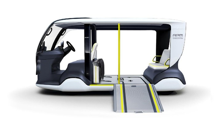 Mobil listrik Toyota untuk pengangkut atlet Olimpiade 2020