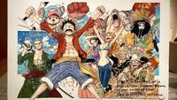 Ilustrasi Spesial One Piece untuk Presiden Emmanuel Macron
