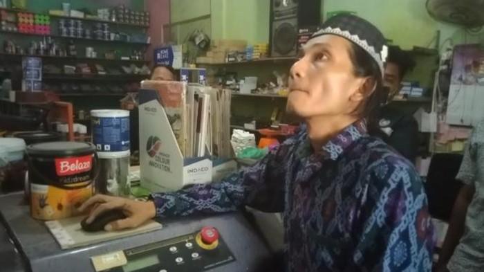 Pemilik rumah yang digedor di Batu Bara, Bustomi (Perdana-detikcom)