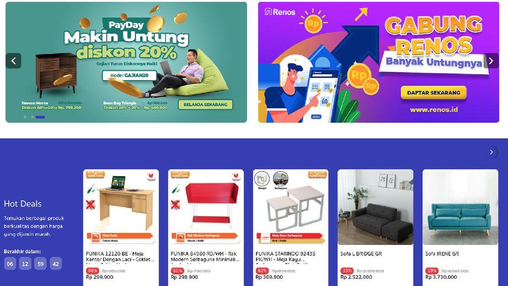 Marketplace Ini Tawarkan Solusi Belanja Home Living Online