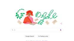 Wanita dari Sumatera Barat Tampil di Goolgle Doodle, Siapa Dia?