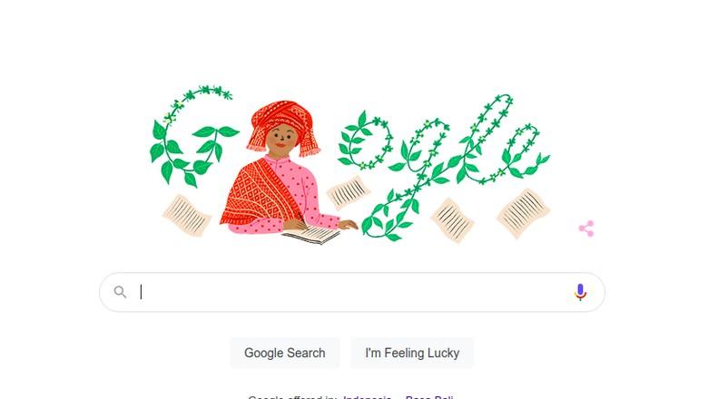 Sariamin Ismail, google doodle