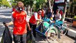 Siswa-Guru SMPN 1 Brebes Donasi untuk Warga Terdampak PPKM