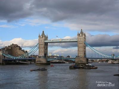 3 Tempat Paling Asyik di Sisi Selatan Sungai Thames