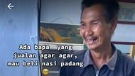 Warganet Terenyuh, Pria di Garut Beli Nasi Padang Berbekal Rp 5.000
