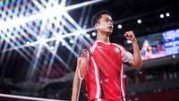 Mimpi Indah Anthony Ginting di Olimpiade Tokyo Belum Berakhir