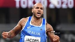 Pelari Italia Jadi Manusia Tercepat di Olimpiade Tokyo 2020