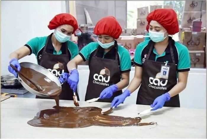 Cau Cokelat