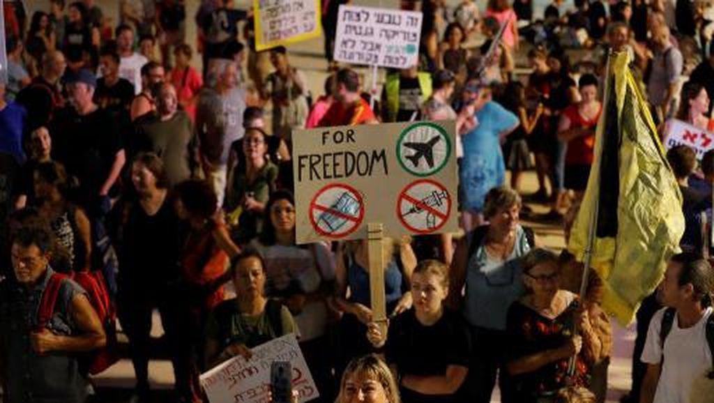 Lonjakan Corona Picu Aturan Baru, Warga Israel Protes!