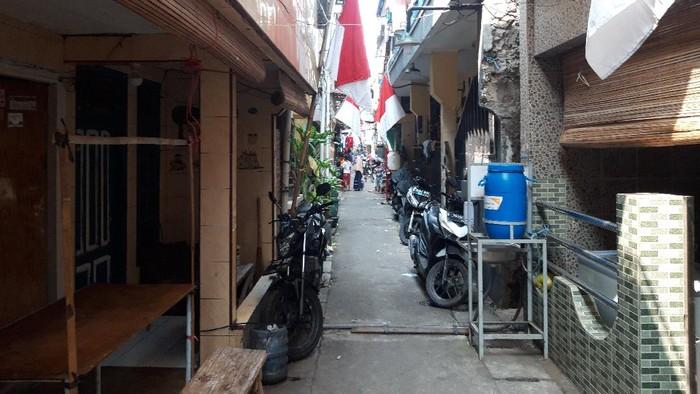Kampung Muara Baru, Jakut (Foto: Rakha/detikcom)