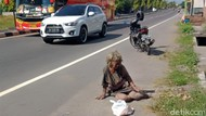 Momen Evakuasi Gelandangan Korban Tabrak Lari di Jalan Yogya-Solo