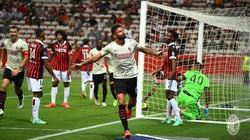 Milan Diimbangi Nice 1-1, Olivier Giroud Cetak Gol Perdana untuk Rossoneri