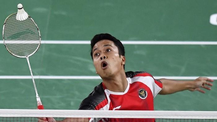 Anthony Sinisuka Ginting gagal ke final bulutangkis Olimpiade Tokyo 2020. Anthony dipaksa mengakui keunggulan Chen Long dua gim langsung 16-21, 11-21.