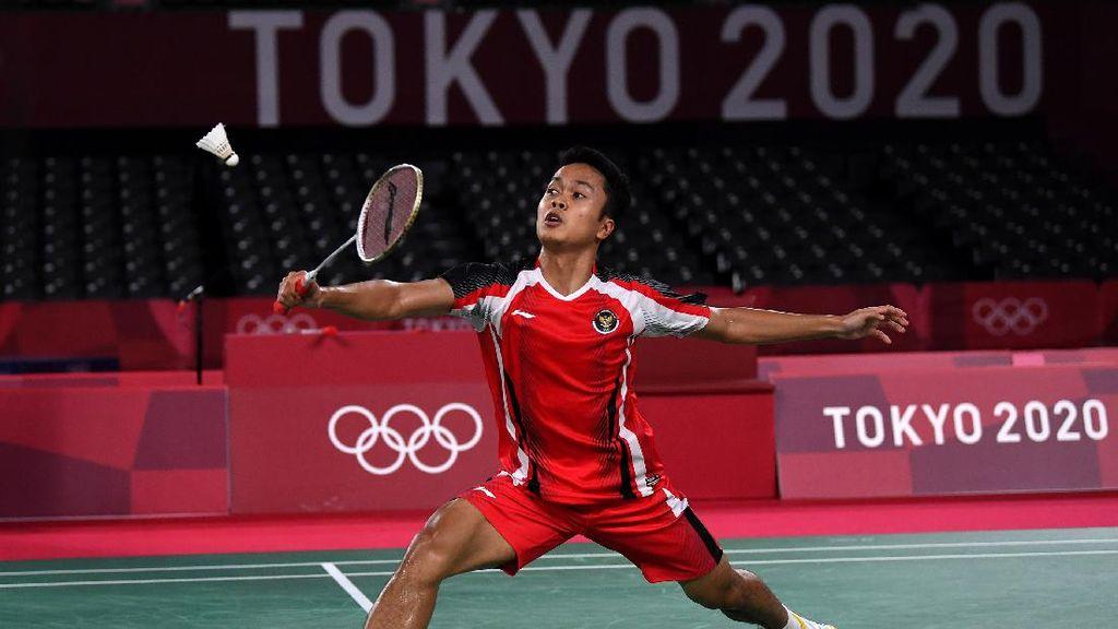 Takluk dari Chen Long, Anthony Ginting Gagal ke Final Olimpiade 2020