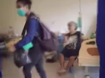 Video Pedagang Asongan Jualan di Ruang Isolasi Covid-19 di Manado