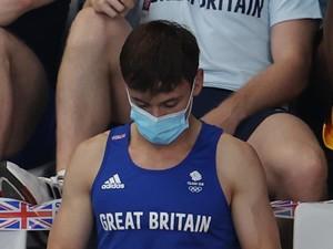 Tom Daley Ungkap Benda yang Dirajutnya dalam Foto Viral Olimpiade Tokyo