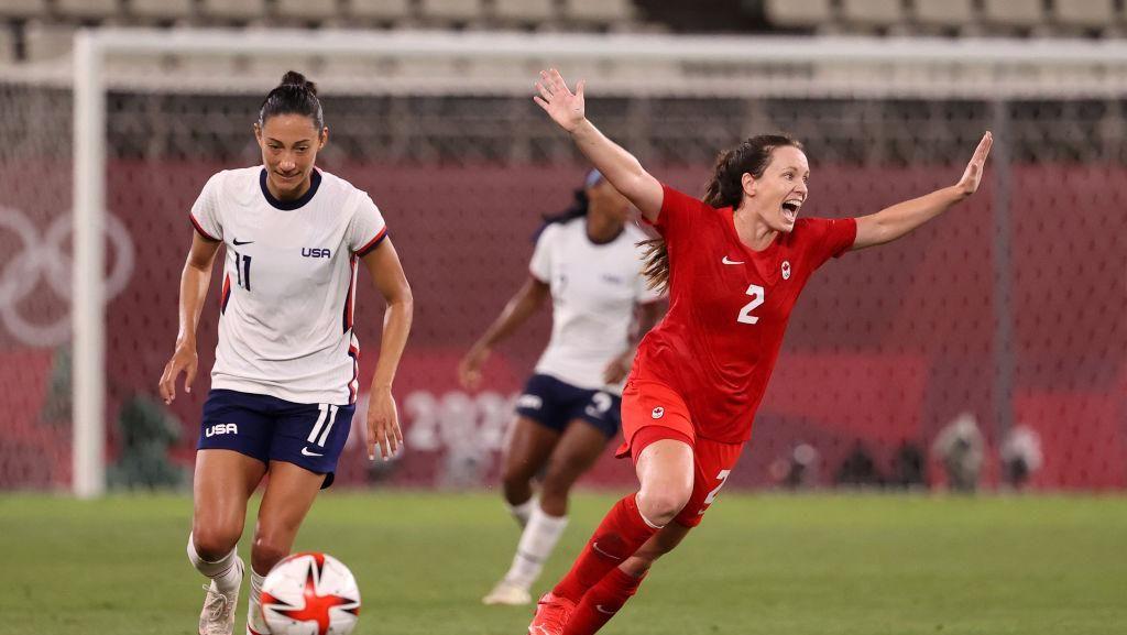 Hasil Sepakbola Putri Olimpiade Tokyo: Kanada Jumpa Swedia di Final