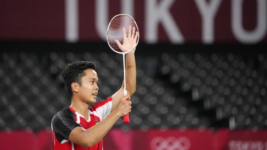 Olimpiade Sudah, Anthony Ginting Bidik Piala Thomas