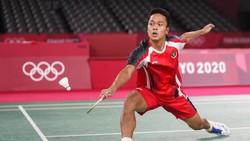 Hasil Bulutangkis Olimpiade: Anthony Ginting Raih Medali Perunggu