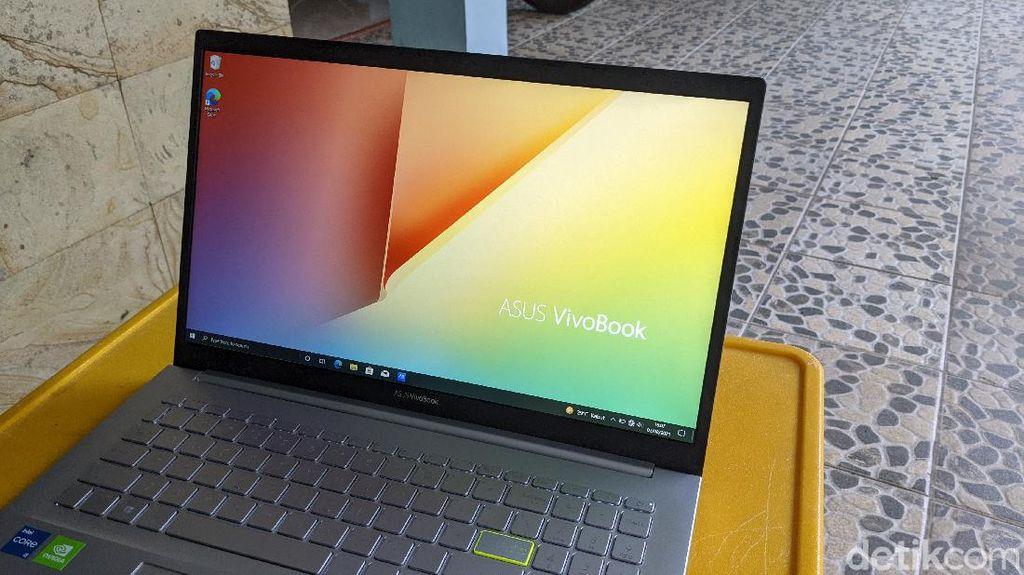Asus Vivobook 15, Laptop Bongsor Teman WFH
