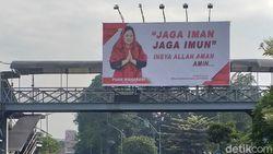 Balihonya Menjamur di Surabaya, Warga Kenal Puan Maharani Atau Tidak?
