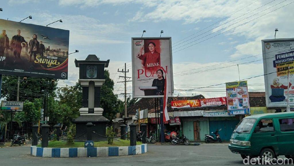 Baliho Puan Maharani Gantikan Ganjar di Ponorogo