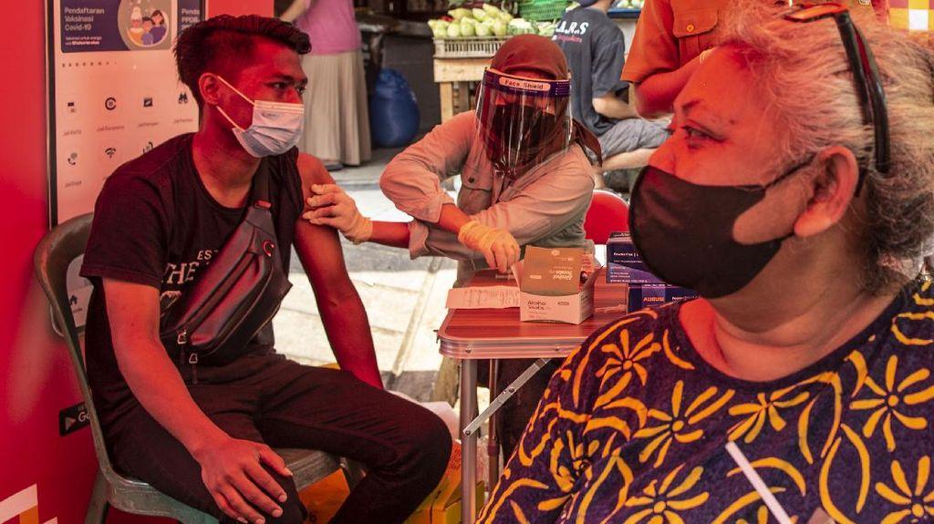 Kini Jakarta Telah Capai Target 7,5 Juta Vaksinasi