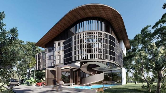 Desain Rumah Baru Ayu Ting Ting