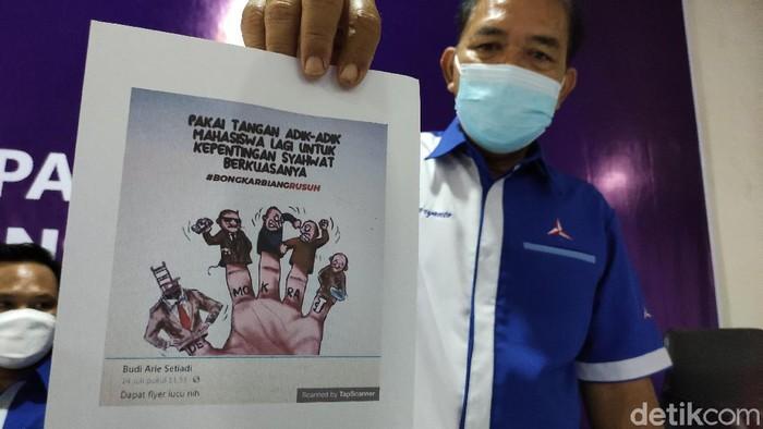DPD Partai Demokrat Jawa Tengah mengadukan Wakil Menteri Desa, Pembangunan Daerah Tertinggal dan Transmigrasi Budi Arie Setiadi ke Polda Jawa Tengah