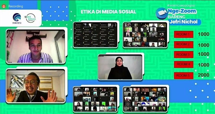 Ernest Prakasa dan Jerfri Nichol Bicara soal Kreativitas Digital