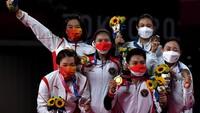 Arti dan Makna Buket Bunga untuk Greysia/Apriyani di Olimpiade Tokyo