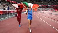 Dua Atlet Ini Sepakat Berbagi Emas di Lompat Tinggi Olimpiade Tokyo 2020