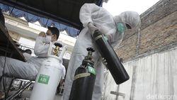 Keran Impor Dibuka, Pemerintah Genjot Pasokan Obat-Oksigen di Luar Jawa