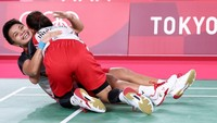 Detik-detik Greysia Polii Gugup di Final Olimpiade Tokyo 2020