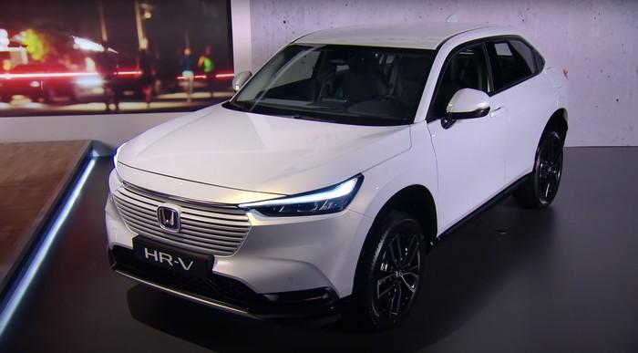 Honda HR-V model 2022 hybrid