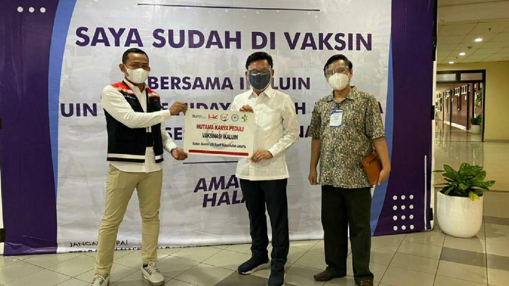 Hutama Karya Gelar Vaksinasi Dosen di UIN Syarif Hidayatullah