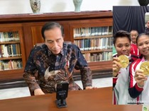 Kado Greysia/Apriyani untuk RI Hingga Ekspresi Bahagia Jokowi