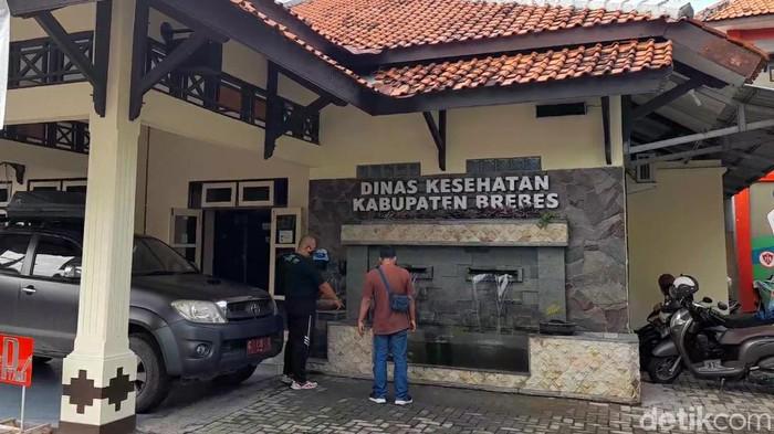 Kantor Dinas Kesehatan Brebes, Jawa Tengah.