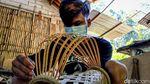 Keren! Kap Lampu Bambu Made in Kulon Progo Tembus Pasar Jepang