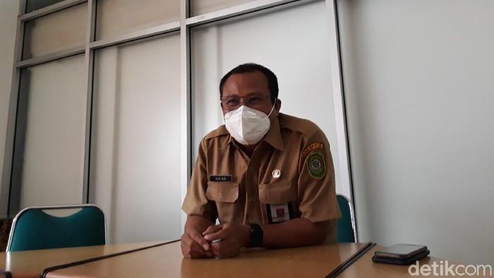 Kepala Dinas Kesehatan Bantul Agus Budi Raharja, Senin (2/8/2021).